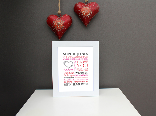 Love Romance Print