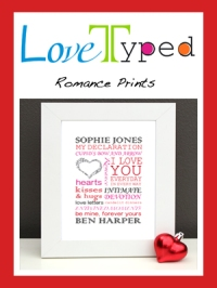 Romance Typed Love Gifts
